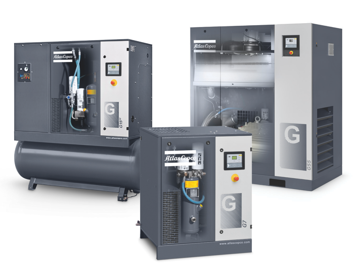 Máy nén khí trục vít có dầu - G Series